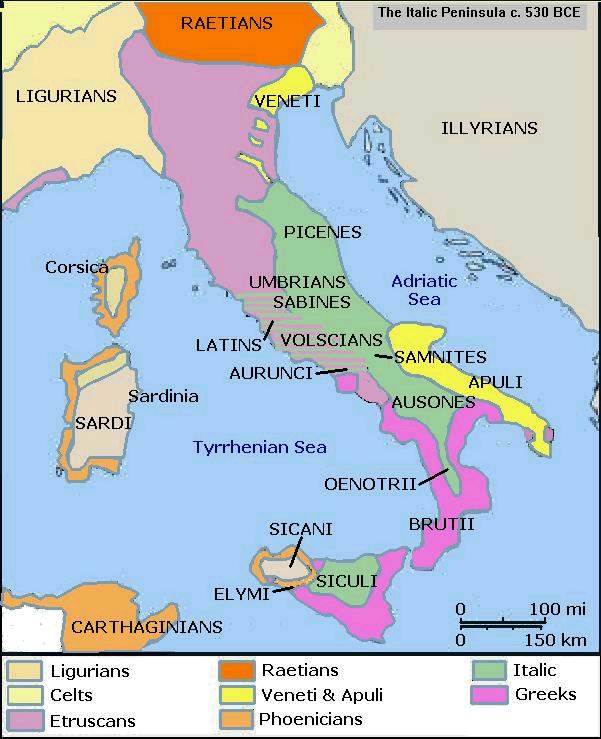 Italic tribes