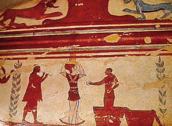 Tomb of the Jugglers Fresco, Tarquinia